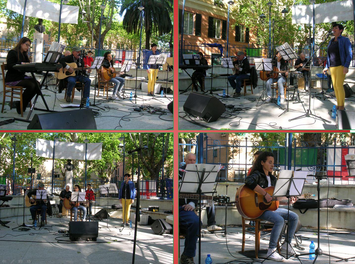 """Esibizione del Gruppo Musicale """"Amici dell'ANPI"""" e Dalila Muscarella"""