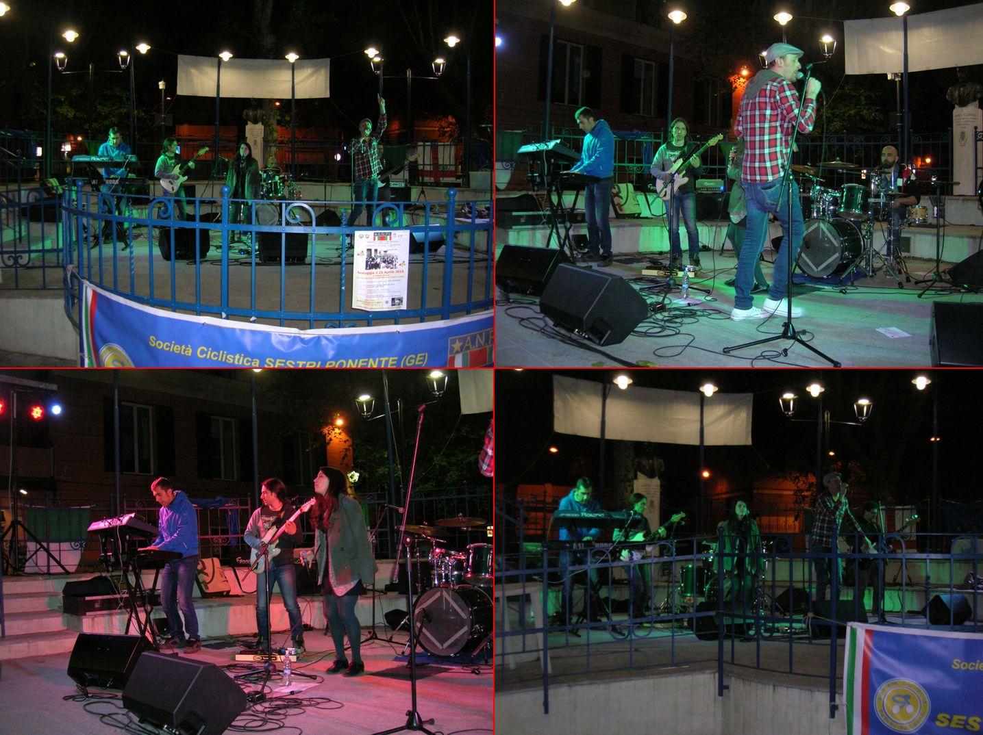 """Esibizione della Band """"Makadam Zena"""""""