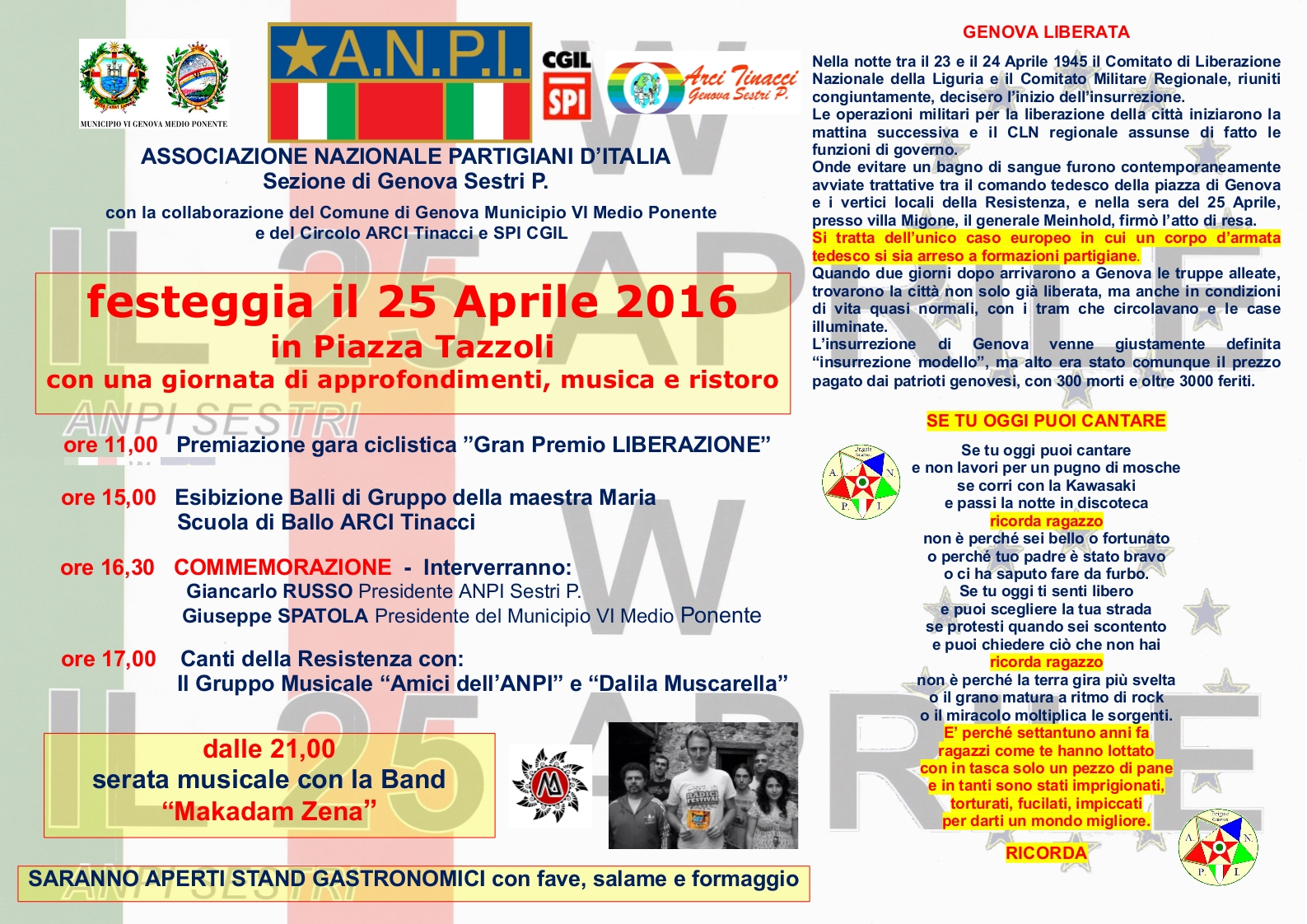 Locandina festa 25 Aprile 2016_A3 Or