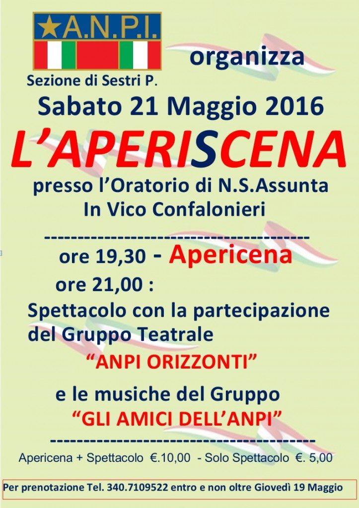 Locandina Apericena