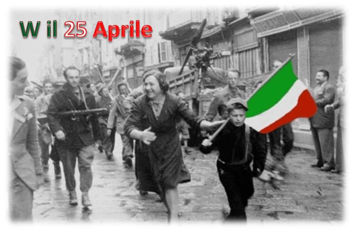 W il 25 Aprile Bandiera Colori