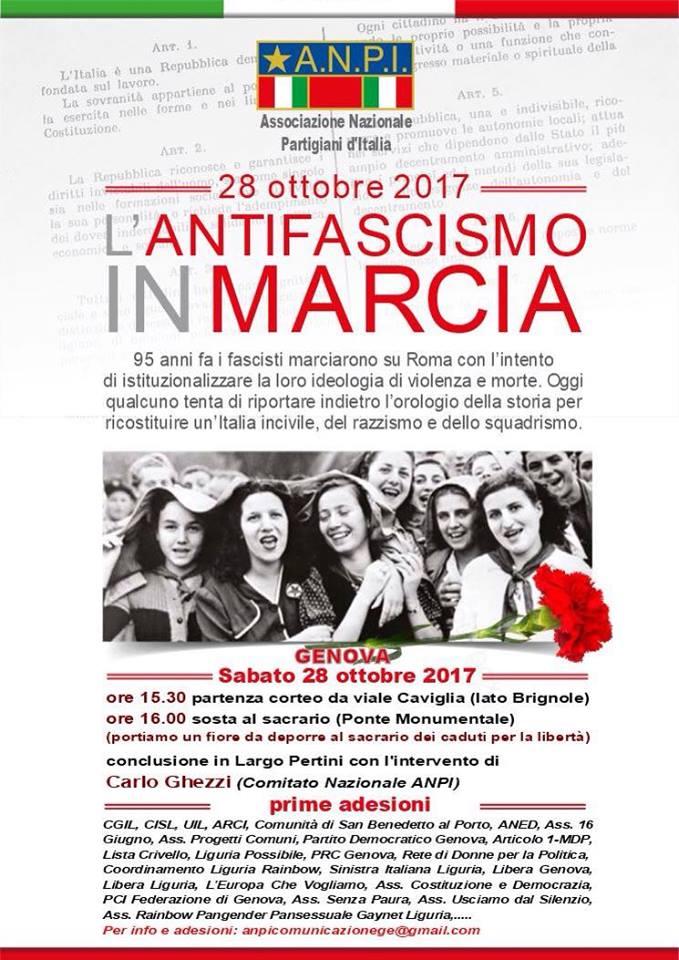 Volantino manif. 28.10.17
